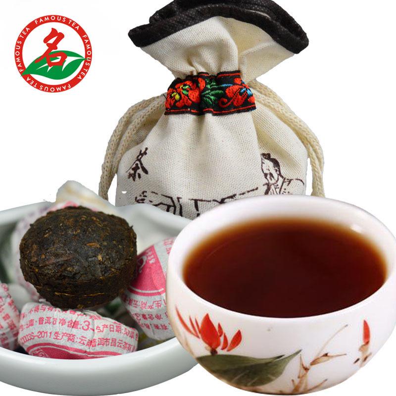 AAAAAA Xiaguan Puer Jasmine Flower ripe bowl tea Pu erh Pu erh Pu er Pu er