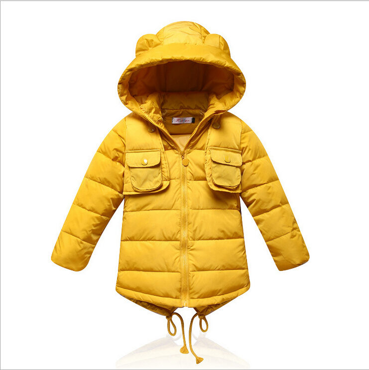 Children dovetail down jacket new Jackets coat Boys font b girls b font winter child font