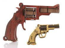3D Puzzle Gun Wooden Toys High Simulation Woodcraft Moving Toy Model Kit(China (Mainland))