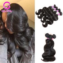 8a grade Gluna Hair Vietnamese Virgin Hair Body Wave Black Hair Styles Pictures 4Pcs Lot Human Hair weave bundles Ali Express UK(China (Mainland))