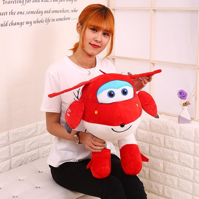 Super-Wings-Superwings-Jett-Cartoon-Toys-Plush-Small-Dolls-For-Children-20cm-30cm-45cm- (1)