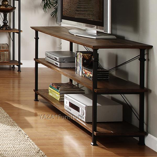 american country loft style tv cabinet industry to do the old wood wrought iron american country loft style