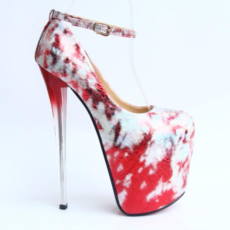 Size 34~43 sexy 19cm Red Bottom high heels shoes women pumps platform Crack explosion ladies chaussure femme talon zapatos mujer<br><br>Aliexpress