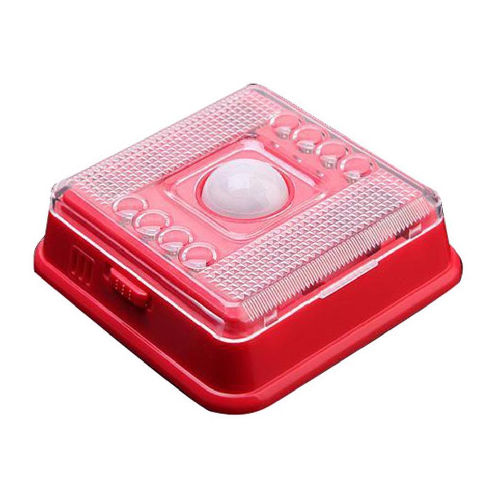 5 Pcs Wholesale Red PIR Infrared 8 LED Auto Motion Sensor Night Light Wireless<br><br>Aliexpress