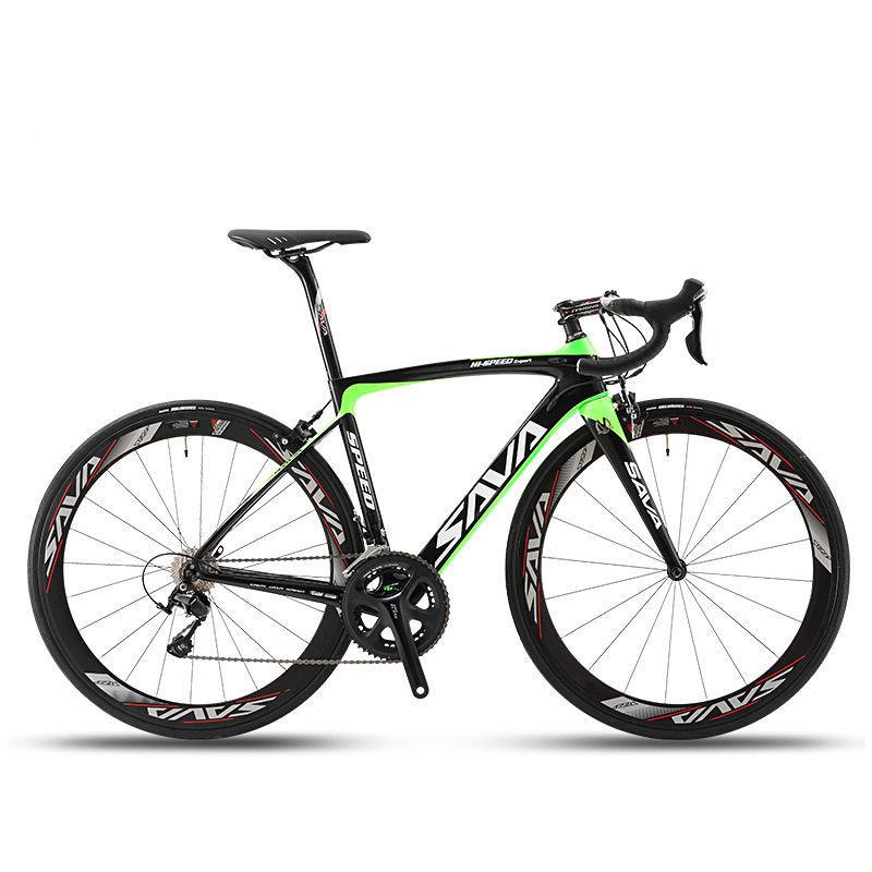 SAVA Road Bike HERD 5.0 700C Carbon Fiber Bicycle 5800 105 Groupset Carbon Fiber Wheelset / Seatpost / Handlebar / Fork(China (Mainland))