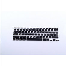 RUSSIAN Letter Silicone KeyboardX100 Cover Skin Protector Protective FILM for Apple MacBook Air 11.6 Inch US Layout Keyboard