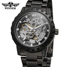 mens watch companies online shopping the world largest mens watch wrg8079m4b1 winner automatic skeleton men gift box watch stainless steel bracelet factory company shipping