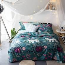 5087 40 S 100% algodão 4 pcs conjuntos capa de Edredão de verão usar sentimento fresco colcha de alta densidade boa qualidade rainha king size(China)
