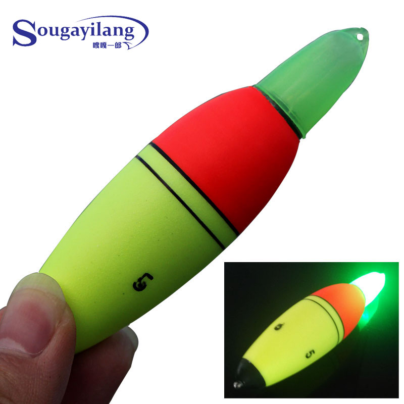Sale new arrived 5pcs lot eva electronic luminous led for Fishing bobbers for sale