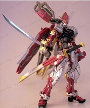 Model change red confused red heresy machine MG1: 100 up gundam Gundam gift assembly model Free shipping