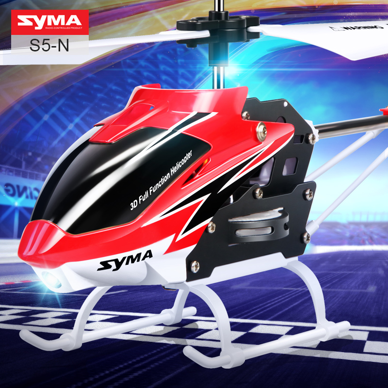 Original SYMA S5-N RC Helicopter 3CH Remote Control Helicopter with Gyro Shatterproof Children's Model Toys(China (Mainland))