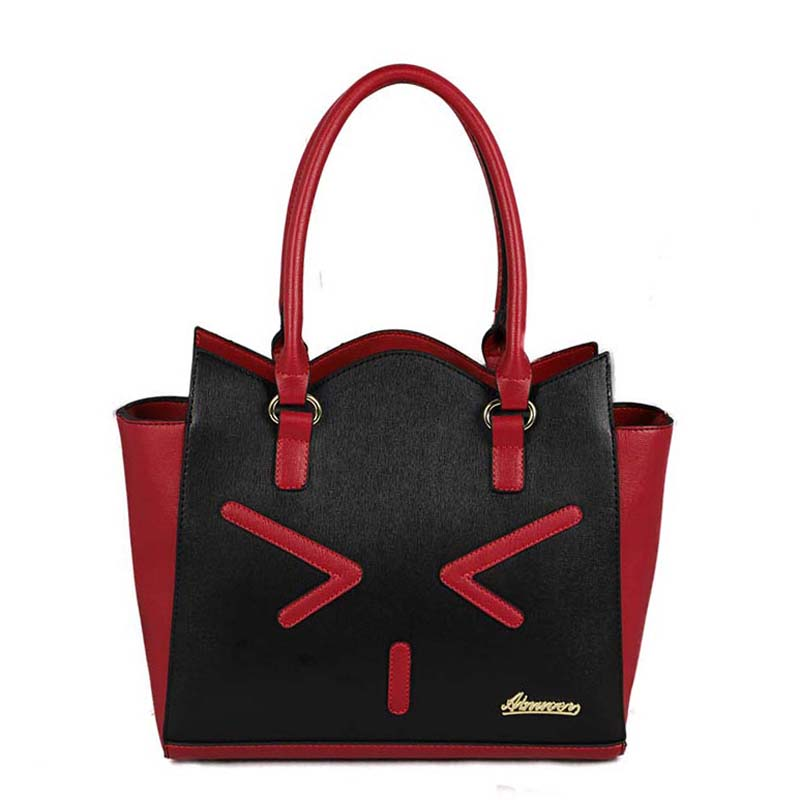 Brand Luxury Super Kawaii Women Leather Handbags Elegant Leather Shoulder Bag Female Women Messenger Bags 2016 Tote Bags XP607(China (Mainland))