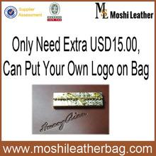 JW19 Handmade Crazy Horse Leather Briefcase Men Leather Handbag Antique Laptop Bag Travel Briefcase Custom Leather Messenger(China (Mainland))
