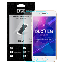 OverDrive DUO-Film Tempered Glass For Iphone 6 6s Plus Screen Protector Anti Blue Light And Explosion Free Shipping