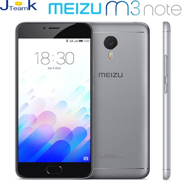 Meizu M3 Note In Stock Dual Sim 4G LTE Mobile Phone 4100mAh Battery MTK Helio P10 Octa Core 5.5 inch 1920*1080 Screen 13MP