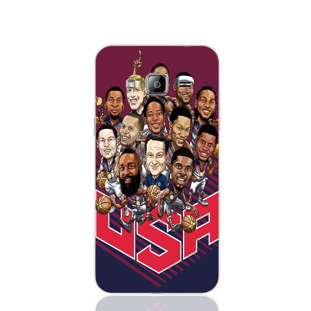 18189 Gold Medal winning USA Basketball team cell phone case cover for Samsung Galaxy J1 ACE J5 2016 J7 N9150(China (Mainland))