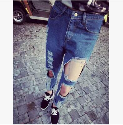 Женские джинсы Other 2015 harajuku pantalones vaqueros mujer chen женские брюки other brands 2015 5xl pantalones mujer calca dx1125004
