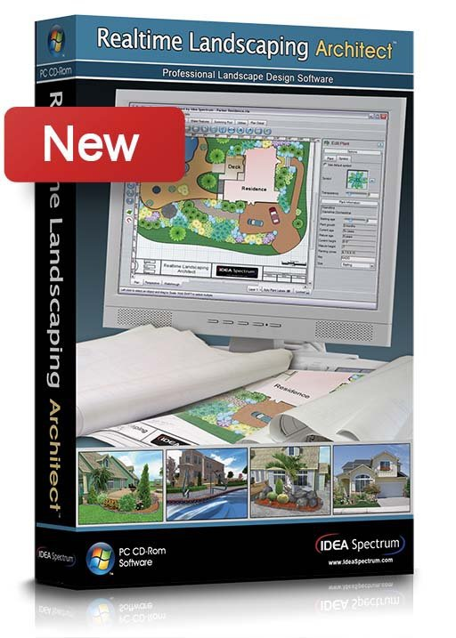 Design Software Realtime Landscaping Architect 5.17 2013 English version for for Windows XP/Vista/Win7/Win8 32bit & 64bit(China (Mainland))