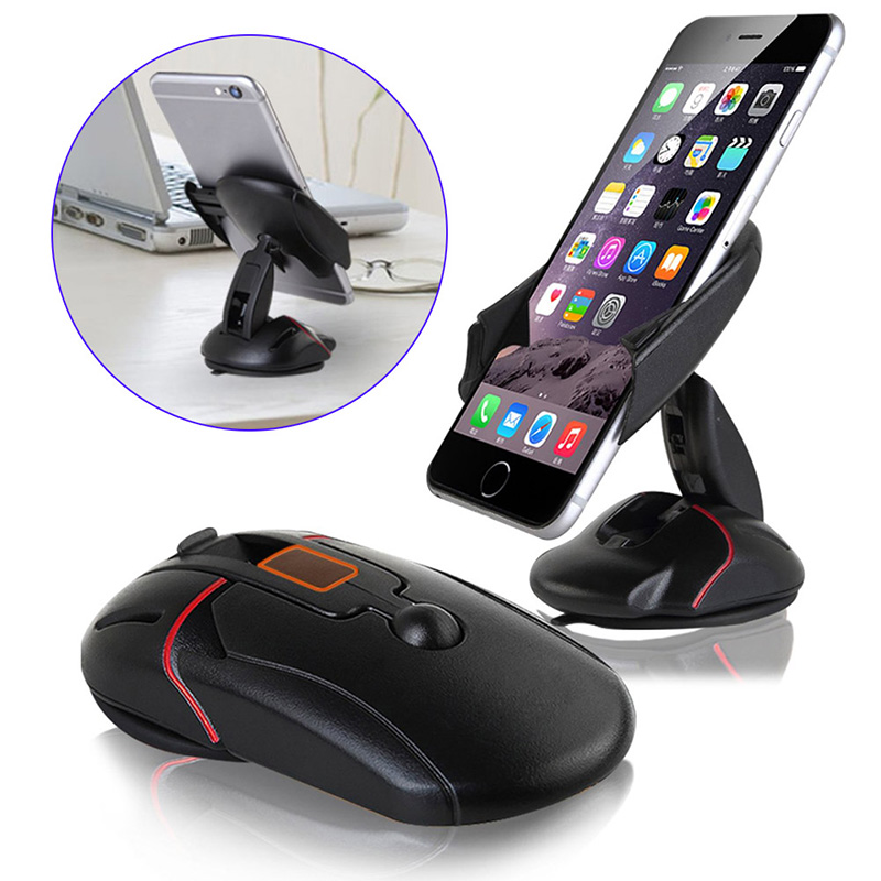 Compact One Touch System Car Mount Phone Holder Cradle For iPhone 6 / 6S Plus / Samsung Galaxy S6 DY-fly(China (Mainland))