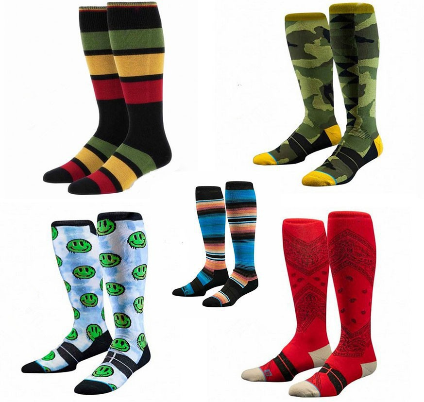 Hot Male knee high Winter ski Socks good peice calcetin elite compression stockings hiking sport long winter Thick wool socks(China (Mainland))