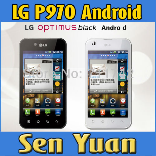 1Pcs Refurbished LG Optimus P970 Unlocked cell phones wifi bluetooth GPS gsm 3G cheapest Android mobile Phone 4.0'' 5MP Camera(China (Mainland))