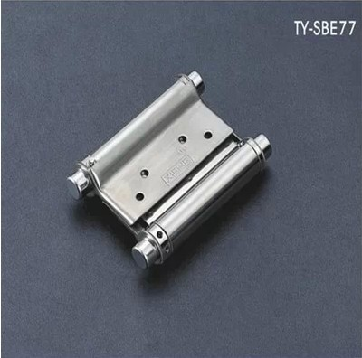 Wholesale Hardware Door fittings 3inch Door hinges Stainless steel Door spring hinge Gate control 4pcs/lot Free shipping(China (Mainland))