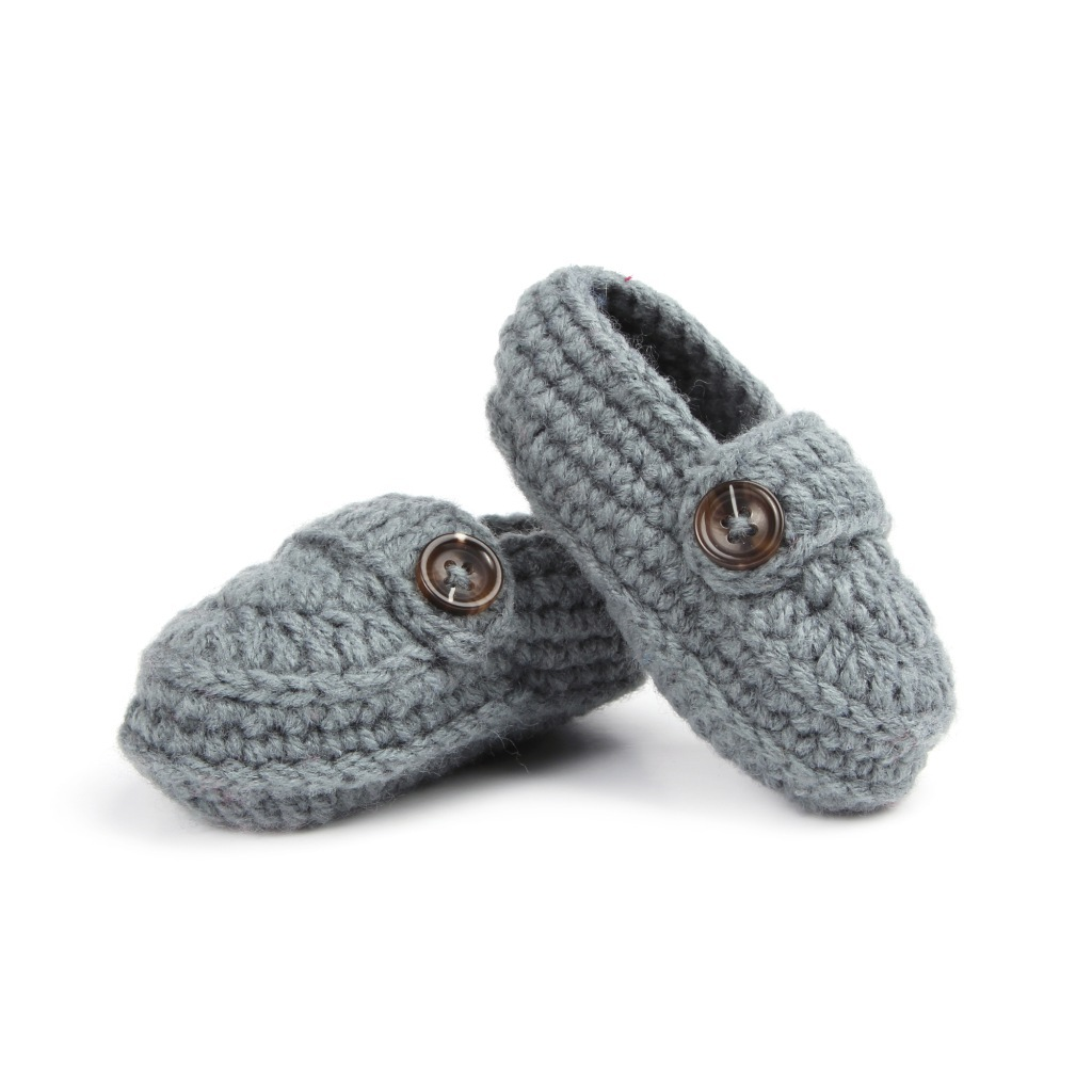 2016 New Baby Boy Shoes Handmade Crochet First Walkers ...