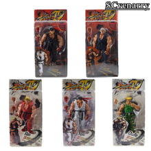 "Buy 7"" 18CM NECA Player Select Street Fighter IV Survival Model Ken Ryu Guile PVC Action Figure Toy Boy Christmas Birthday Present for $15.77 in AliExpress store"