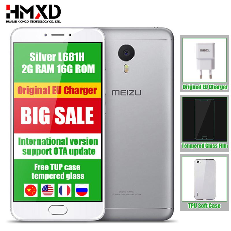 """Original Meizu M3 Note L681H Mobile Phone Octa Core 5.5"""" 1920 1080P 2GB RAM 16GB ROM International Version Support OTA Update(China (Mainland))"""
