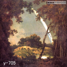 Free Rainbow and the Frost Scenic Studio Background Y705,10x20ft Hand Painted Photo backdrop,backgrounds for photo studio