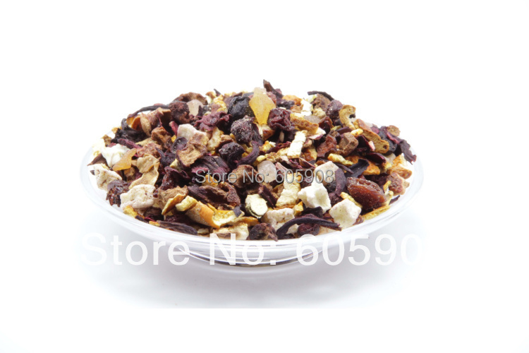 Cherry Fruit Assorted Dried Fruit Tea 300g Free Shipping