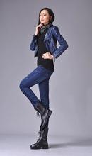 New famous 2016 women's jeans pants Italy Mani Desiger Jeans, women skinny blue denim jeans brand Size 25-33