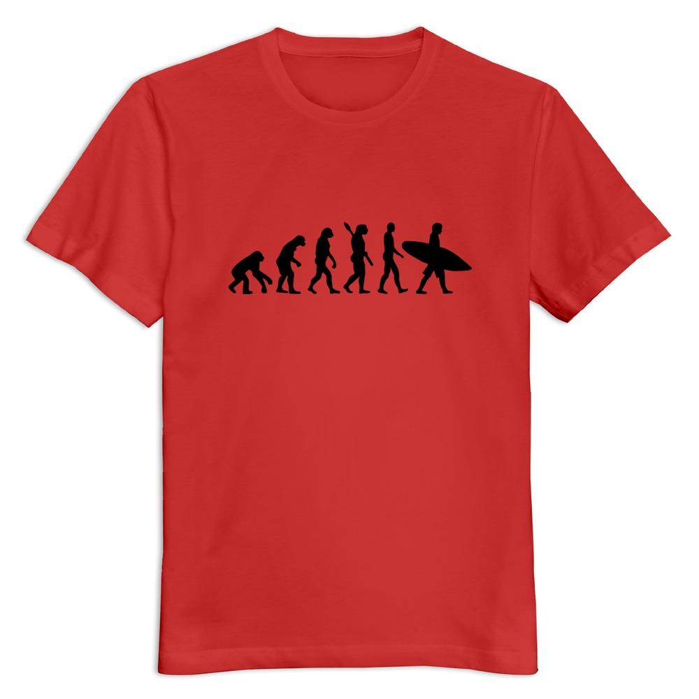 O-Neck Evolution surfing Men's t-shirt Discount Hip Hop boys tees shirt(China (Mainland))