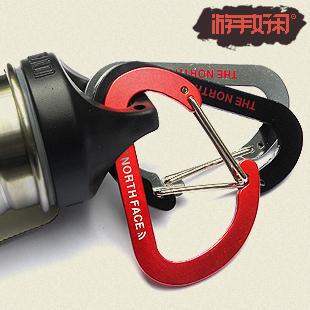 7.3 quick release steel wire buckle keychain lvkou water bottle hanging - jack houguoqin's store