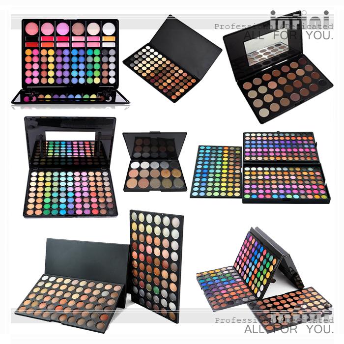 Brand Makeup 10 15 28 72 78 88 120 180 252 Colors Eye shadow Palette Make up Eyeshadow Concealer Blush Lipstick palette Shadows(China (Mainland))