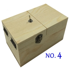 New 5 styles wooden useless box gags Joke toy leave me alone creative box funny machine toys birthday love gift(China (Mainland))