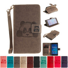 Buy Sony Xperia Z2 Luxury Leather Moible Wallet Cover Flip Case Sony Xperia Z2 L50W Full Protective Bags+Hand Strap for $3.87 in AliExpress store