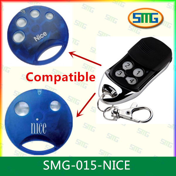 Garage door universal rolling code gate remote control for nice smilo(China (Mainland))
