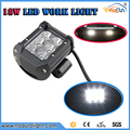 Free Shipping 2pcs Led Tractor Truck Offroad 4WD 4 Inch Led Work Light Spot Flood Driving
