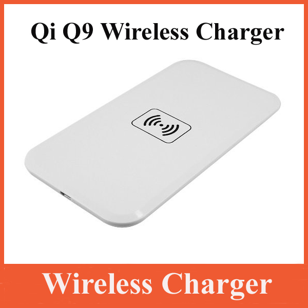 Q9 Qi Wireless Charger Inductive Mobile Phone Charger for Samsung Galaxy S5 s4 s3 note2 LG Nexus 4 Nexus7 2G Nokia lumia 920 820(China (Mainland))