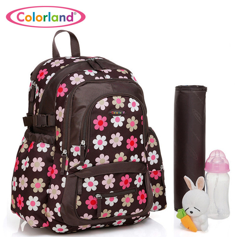 8 Colors High Quality baby backpack Microfibre Diaper Bags Nappy Mummy backpacks bolsa maternidade(China (Mainland))