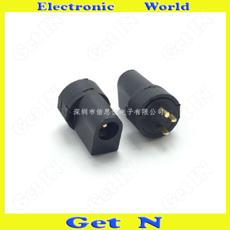 20pcsDC-097 Manufacturer Wholesale Direct Selling 3.5*1.3 Column-Shape Upright 3-Pin DC Power Connector DC Charging Socket(China (Mainland))