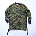 Kanye west style brand clothing mens swag street top tees tyga camo camouflage t shirt t