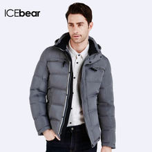 ICEbear 2016 Polyester Winter Jackets And Coats Thick Warm Fashion Casual Handsome Young Men Parka Fit Snow Cold 16MD895(China (Mainland))