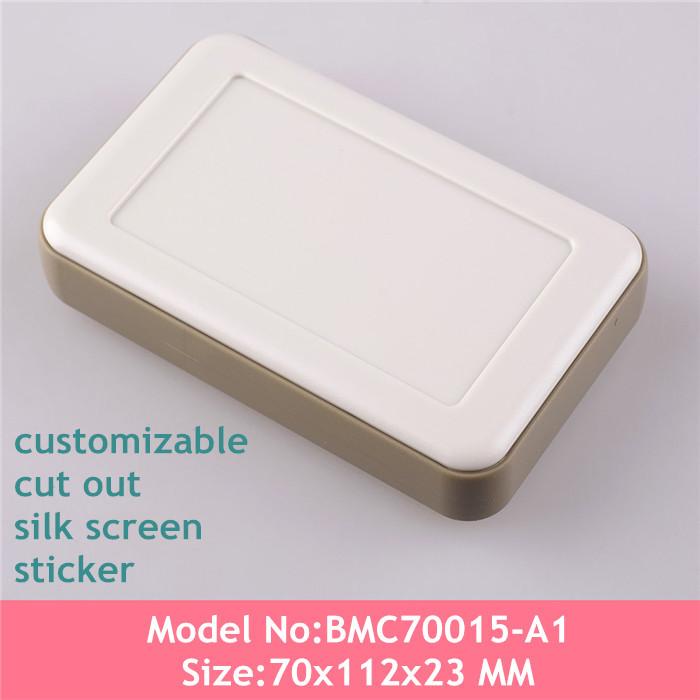 Free shipping(2pcs) Electronics project box DIY logo plastic electronics case desktop instrument box 70x112x23MM<br><br>Aliexpress