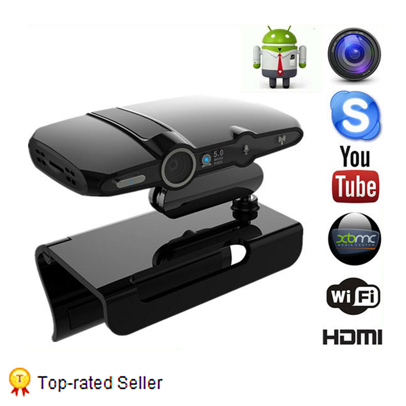 1GB/8GB Full HD WiFi Smart Mini PC HD22 Android IPTV tv box Dual core Android 4.2.2 Boxes 5.0 MP Camera Set-top Boxes Video call(China (Mainland))