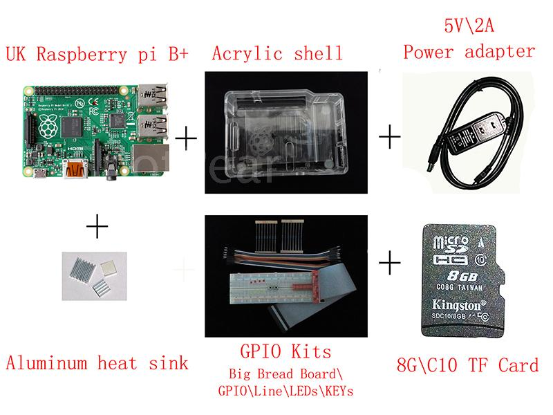 Raspberry pi 2-generation B-type Basics Learning Suite<br><br>Aliexpress