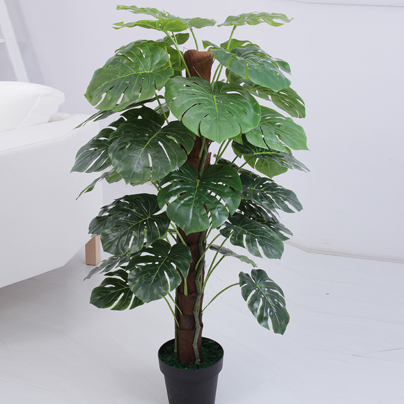 Turtle artificial plants home decoration indoor trees for for Artificial plants for decoration