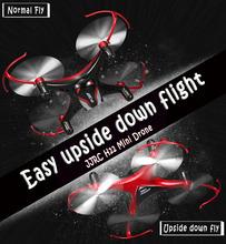 JJRC H22 3D Inverted Flight 2.4G 4CH 6-Axis Mini RC Quadcopter RTF Headless Mode One Key Return Best Boy Gift VS JJRC H20 H2