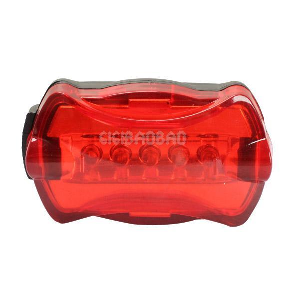 Super Bright Bicycle LED Rear Lamp Tail Back Light 6 Flash Modes Waterproof #gib(China (Mainland))